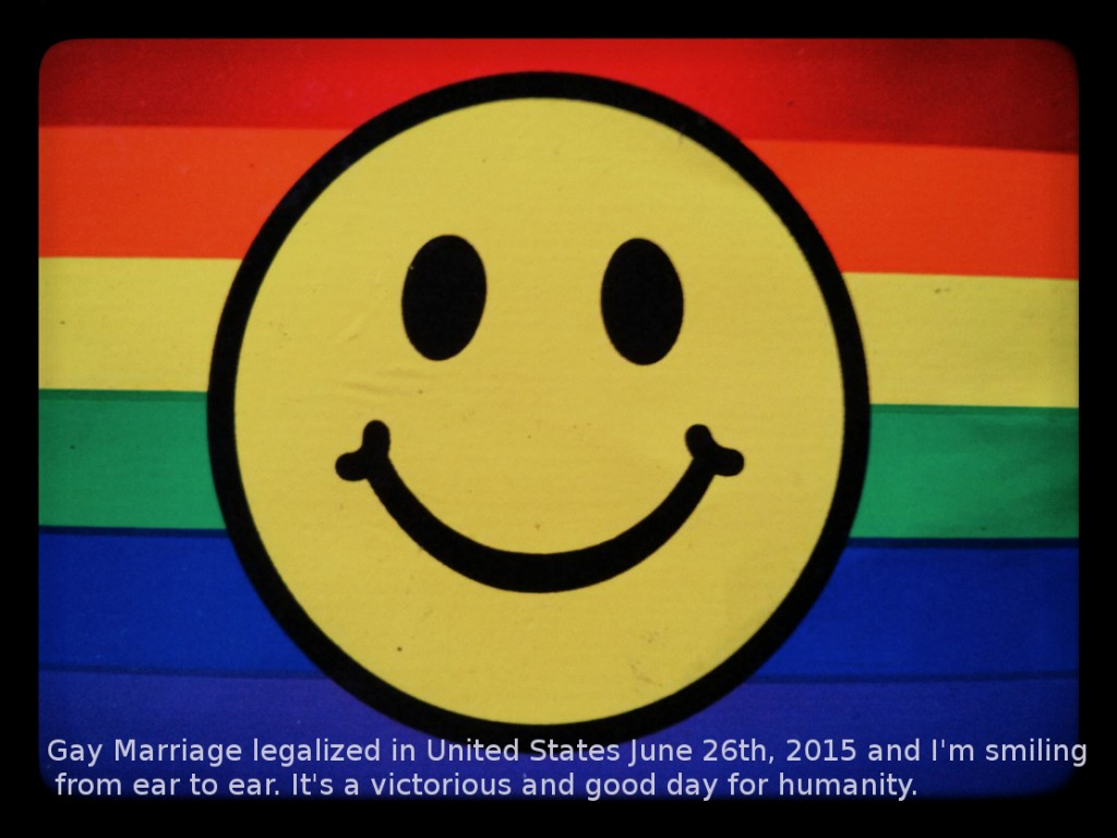 Happy Pride, #lovewins in  2015