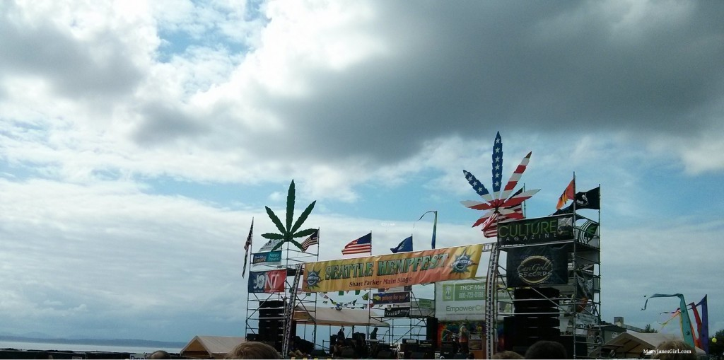 Hempfest in Seattle 2015